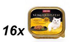Animonda No grain adult - pulyka paradicsommártásban macskáknak16 x 100g