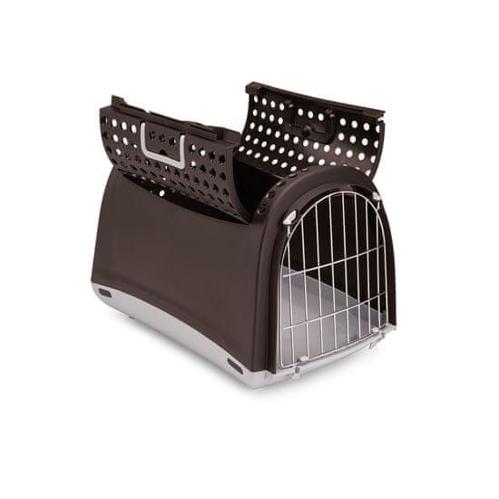 IMAC Prepravka pre mačky a psov Cabrio hnedá