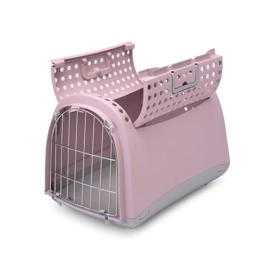 IMAC Prepravka pre mačky a psov Cabrio rúžová