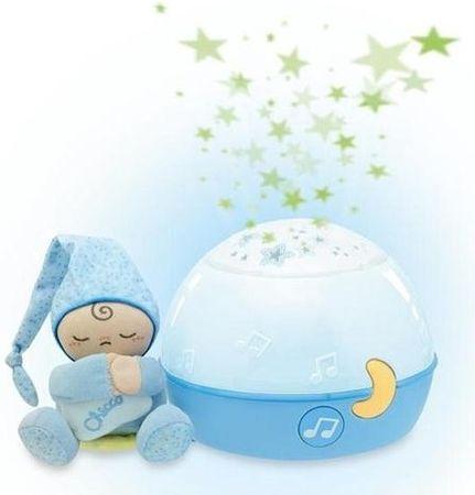 Chicco Zenélő csillagok vetítő, Kék