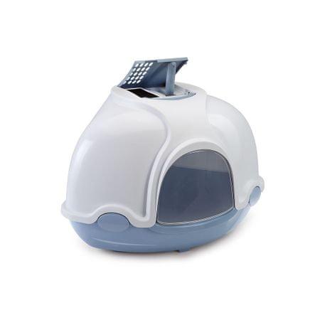 Argi Fedett Macska WC szűrővel, Kék