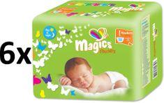 Magics Flexidry 1 Newborn Megapack (2-5 kg) 192 db (6x32 db)