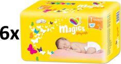 Magics Easysoft 1 Newborn Megapack (2-5 kg) 252 db (6x42 db)
