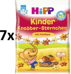 HiPP BIO Dětské ovocné obilné křupky 7x30g