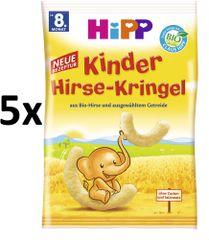 HiPP BIO Dětské obilné křupky 5x30g