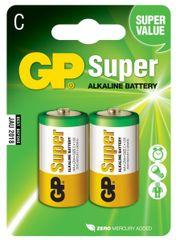 GP Baterie alkaliczne GP Super (C) – 2 szt.