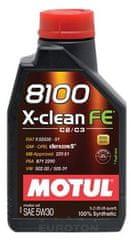 Motul motorno olje 8100 X-Clean FE 5W30, 1L