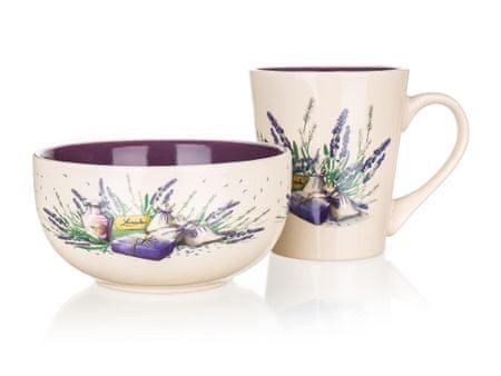 Banquet set šalice i zdjele Lavender