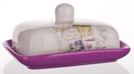 Banquet keramična posoda za maslo Lavender