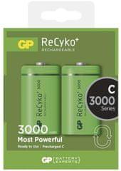 GP polnilna baterija ReCyko+ HR14 (C), 2 kosa