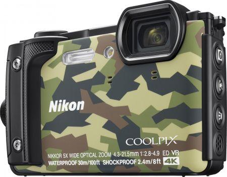 Nikon aparat kompaktowy Coolpix W300, Camouflage