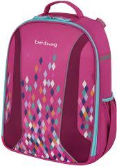 Herlitz Geometric iskolatáska, Pink