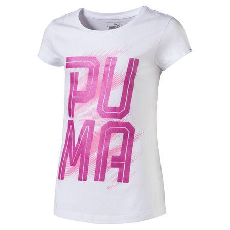 Puma PUMA Font Tee Girls Puma White 164