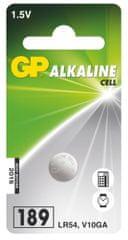 GP Alkalická gombíková batéria GP189 (LR54)
