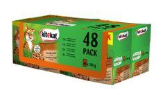 Kitekat Lovecké menu BONUS 48pack