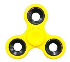 Fidget spinner žltý