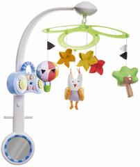 Taf Toys Kolotoč Sova s MP3 prehrávačom