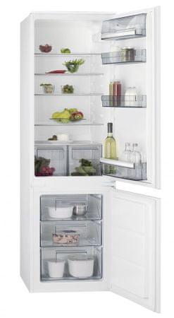 AEG vgradni hladilnik z zamrzovalnikom SCB51811LS