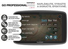 TomTom nawigacja GO PROFESSIONAL 6200 - LIFETIME