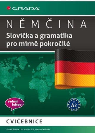 Billina Anneli a kolektiv: Němčina - Slovíčka a gramatika pro mírně pokročilé A2