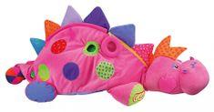 K´s Kids Ružová dinosaurica so 60 loptičkami