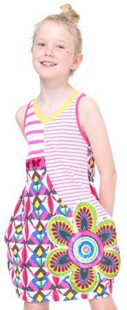 Desigual dívčí šaty Jartum 152 viacfarebná