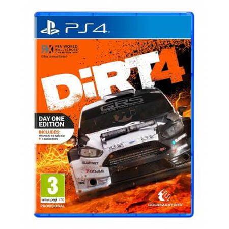 Codemasters Dirt 4 za PS4