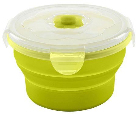 Nuvita Składana miska silikonowa 230 ml, zielony