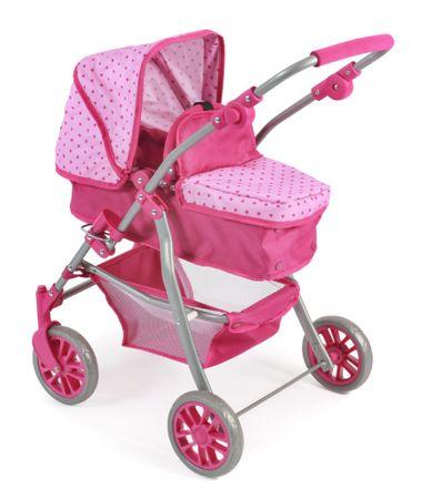 Bayer Chic SPEEDY Játék babakocsi, Világos Pink / Sötét Pink