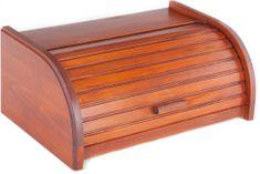 Kolimax skrinja za pecivo ali kruh, barva mahagonija