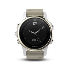 Garmin zegarek fénix 5S Sapphire, Goldtone, Grey band