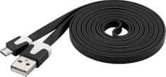 PremiumCord Micro-USB kabel (2.0; 2m), čierna