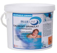Planet Pool klor granulat, 3 kg, hitrotopen