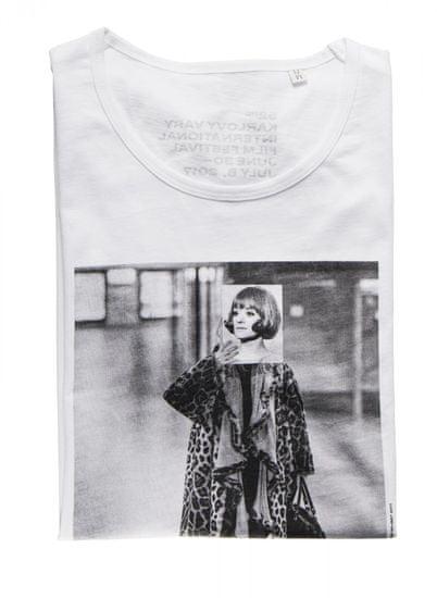 MFF Karlovy Vary dámské bílé tričko M