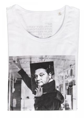 MFF Karlovy Vary pánské bílé tričko L