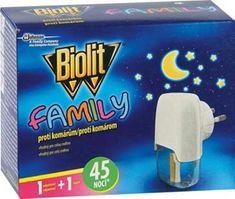 Biolit Family Elektrický proti komárům s tekutou náplní 2x45 nocí