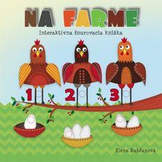 autor neuvedený: Na farme-šnurovacia knižka