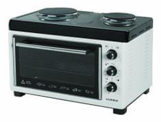 LUXELL mini pečica s kuhalnima ploščama LX13560