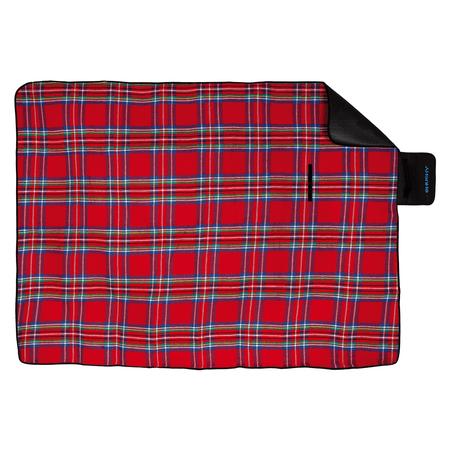 Husky odeja za piknik Covery 150x150, rdeča