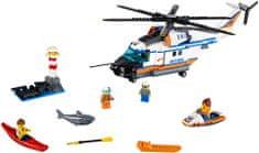 LEGO City Coast Guard 60166 Nagy teherbírású mentőhelikopter