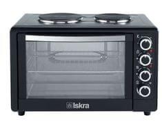 Iskra mini pečica s kuhalnima ploščama HL48RCT