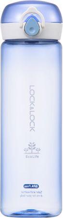 Lock&Lock Fľaša Bisfree One Touch 550 ml, modrá