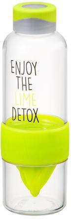 Lock&Lock steklenica Bisfree Detox, 520 ml, zelena