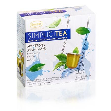 Ronnefeldt herbata Simplicitea Strong Assam Swing, 10 kapsułek