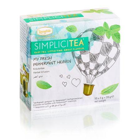 Ronnefeldt miętowa herbata Simplicitea Fresh Peppermint Heaven, 10 kapsułek