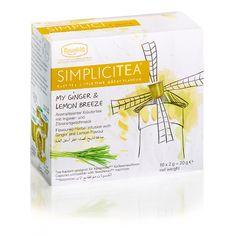 Ronnefeldt Simplicitea Ginger & Lemon10 kapsúl