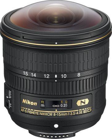 Nikon obiektyw Nikkor AF-S 8-15 mm f/3,5-4E ED Fisheye