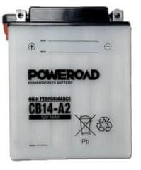 Poweroad akumulator za motor CB14-A2 (standardni, 12V 14Ah)