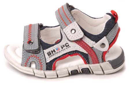 Beverly Hills Polo dětské sandály 20 tmavo modrá