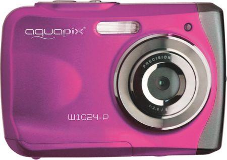EasyPix aparat cyfrowy W1024 Splash, różowy